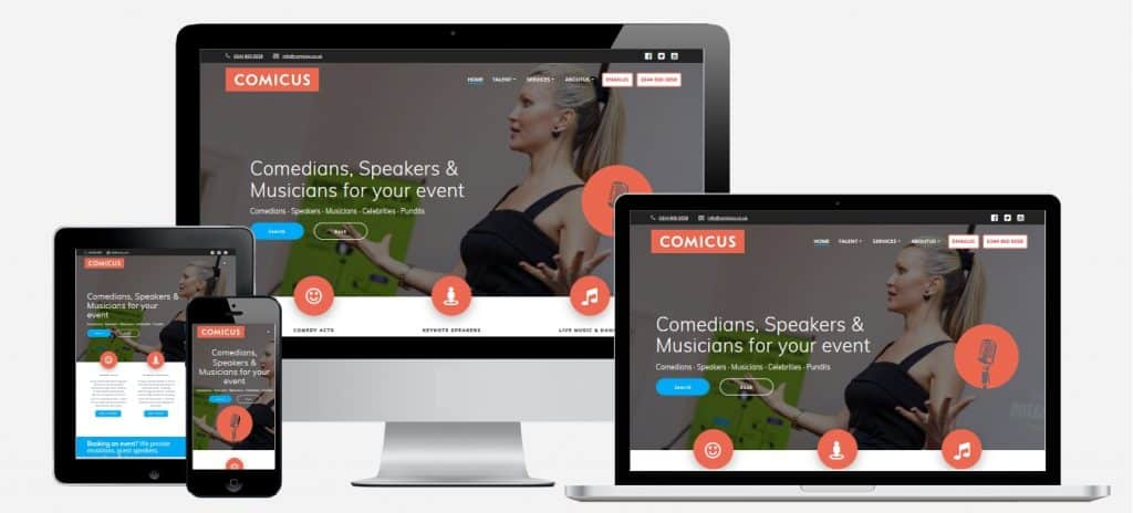 Responsive Websites For Talent Agencies