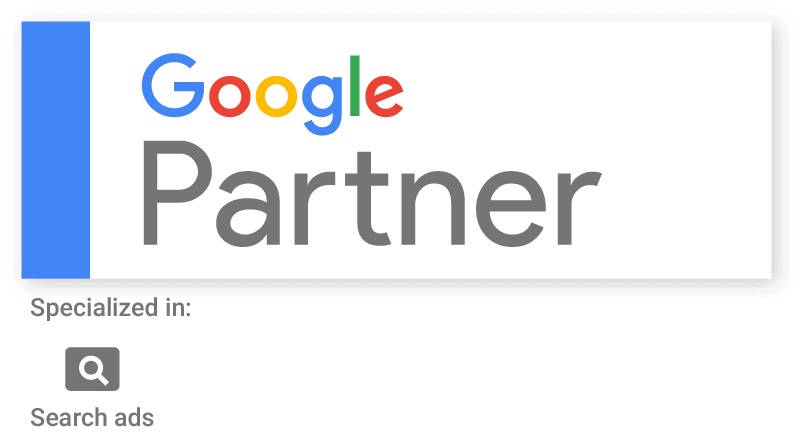 Google Partner Search Specialisation