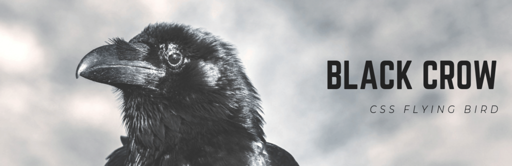 Black Crow (CCS Flying Bird) WordPress Plugin