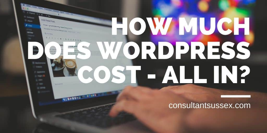 How Much Does WordPress Cost