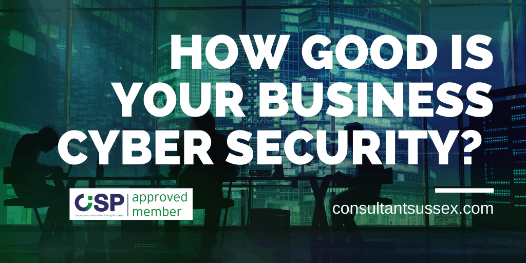 Test & Plan Small Business Cyber Security With CiSP Approved Member