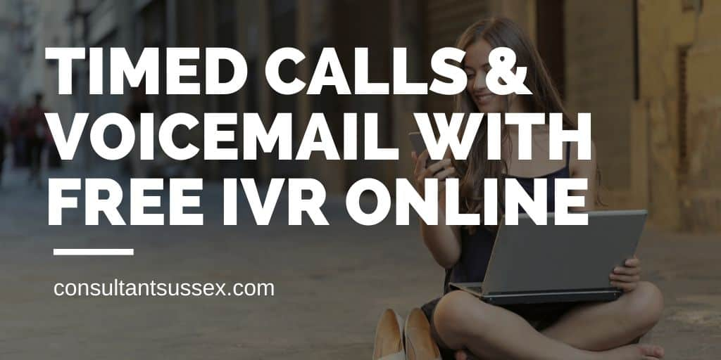 Free IVR Online☎️Timed Calls & Voice Recording to Email for Small Business